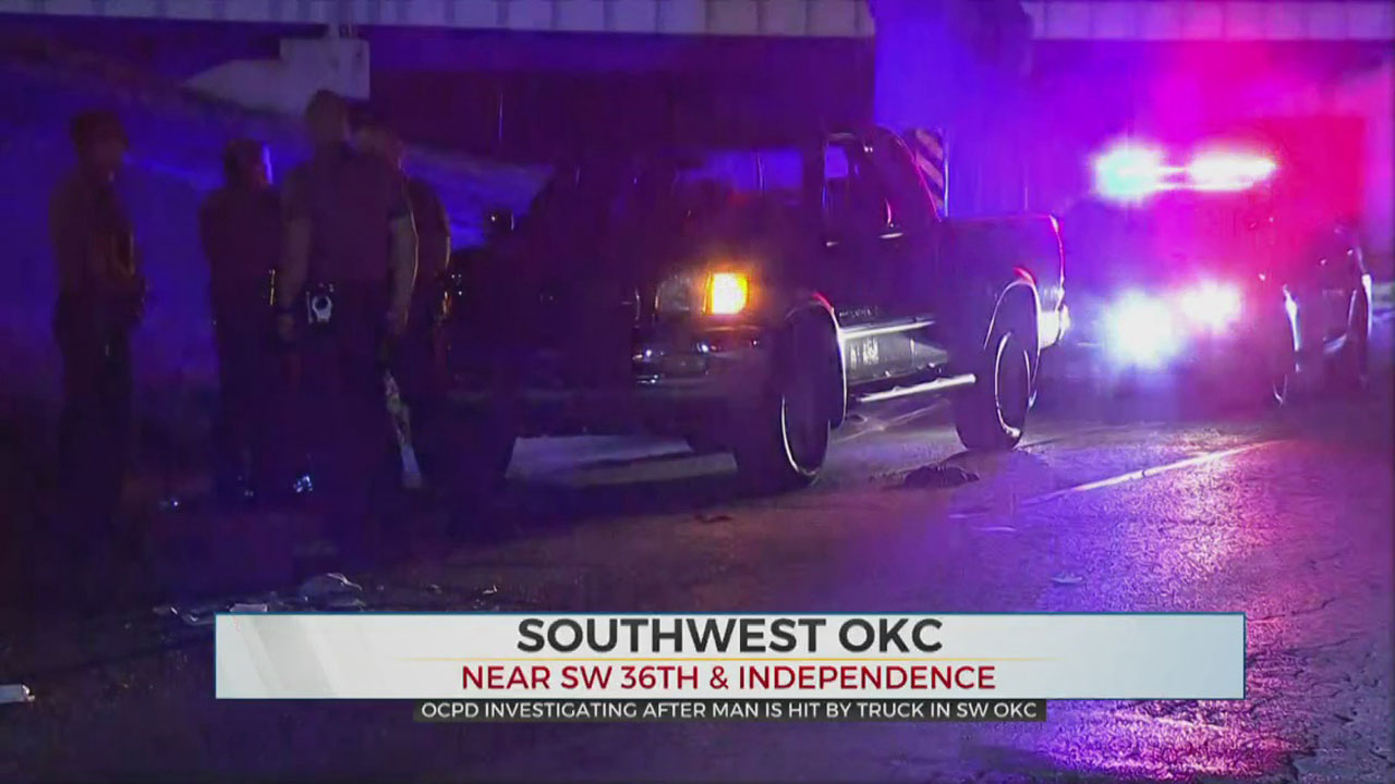 Man Taken To Hospital After Being Hit By Car In SW OKC