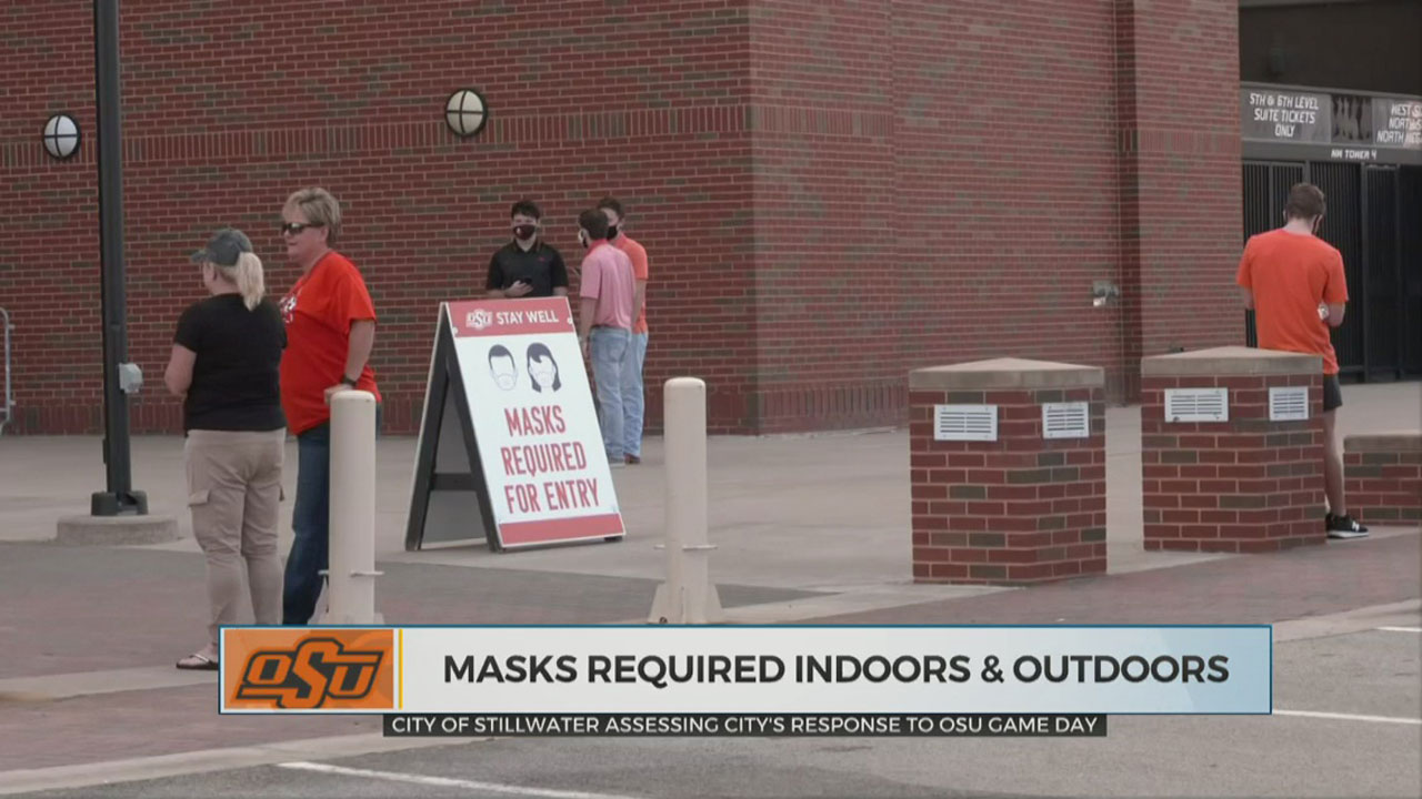 City Of Stillwater Assessing City's Response To OSU Gameday
