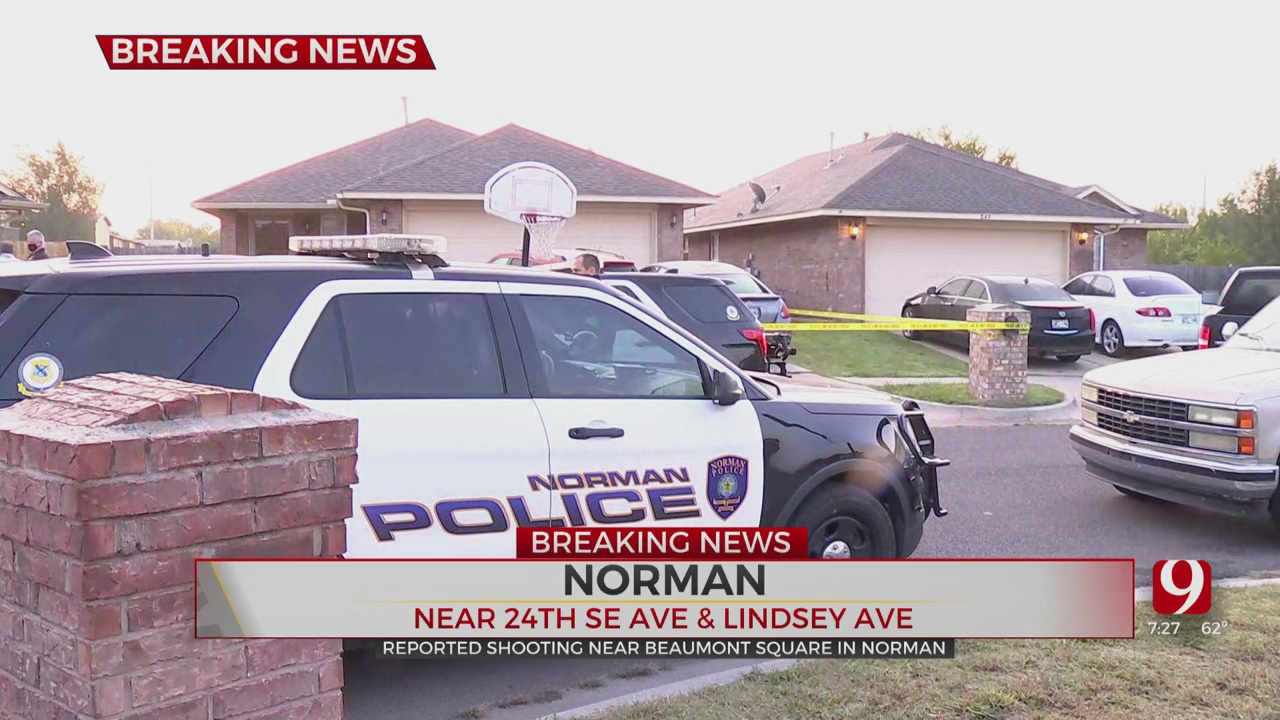 1 Dead, Another Injured After Shooting At Norman Home