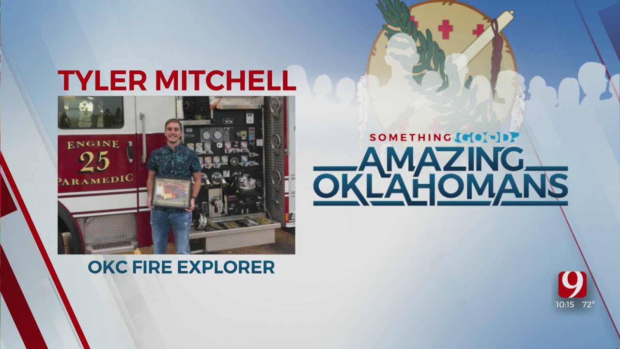 Amazing Oklahoman: Tyler Mitchell Helps To Rescue Elderly Man