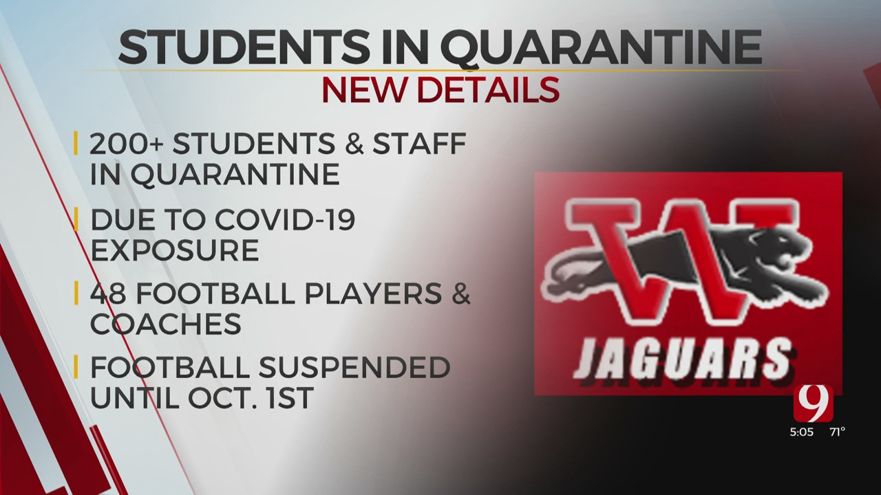 Westmoore High School To Quarantine 200 Students, Staff After COVID-19 Exposure