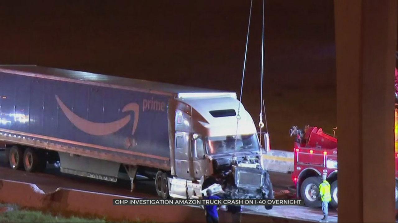 Amazon Truck Wreck