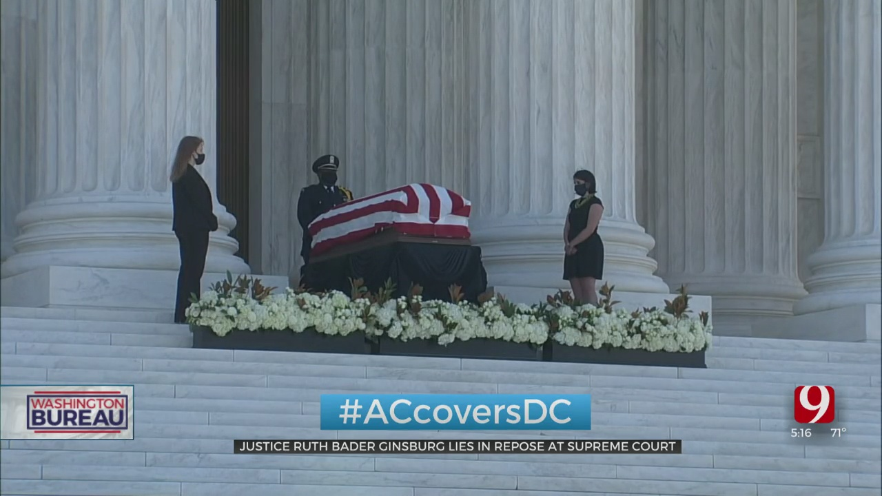 Americans Remember Justice Ginsburg As She Lies In Repose At The Supreme Court