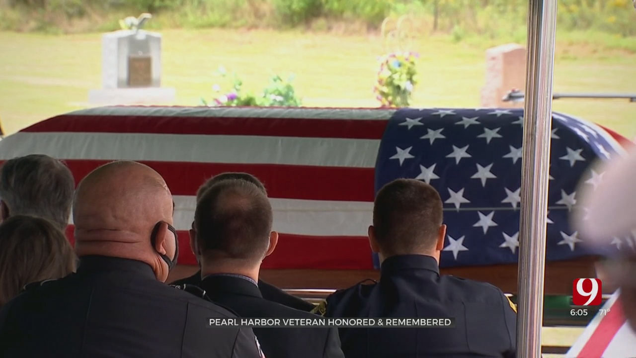 Sailor Killed In Pearl Harbor Attack Laid To Rest In Oklahoma