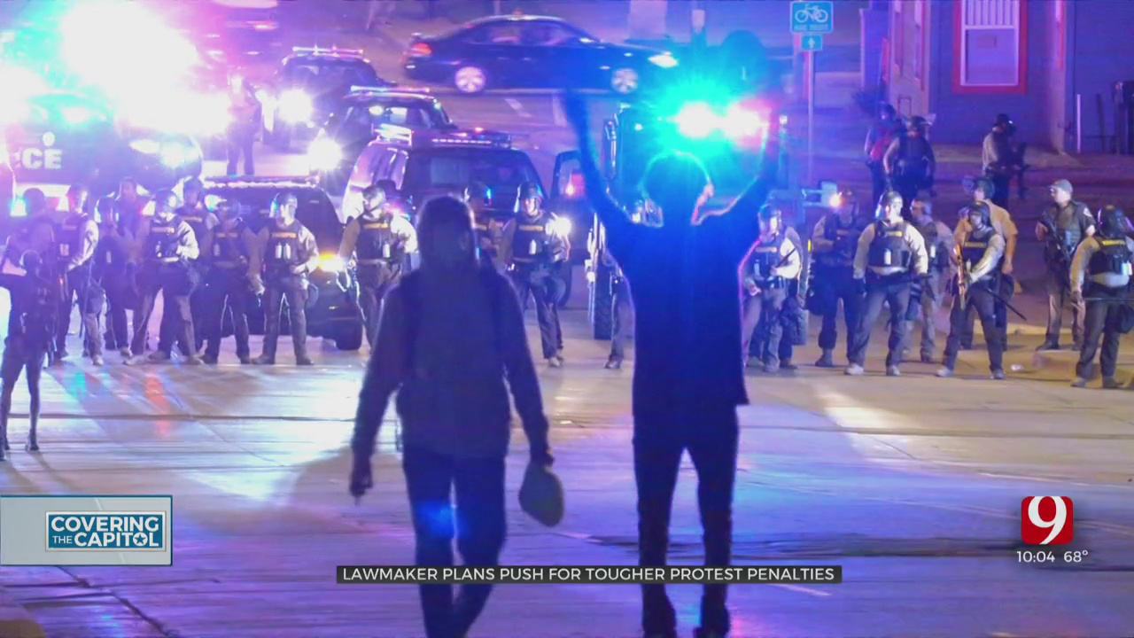 Oklahoma Lawmaker Plans To Propose 'Anti-Riot' Legislation