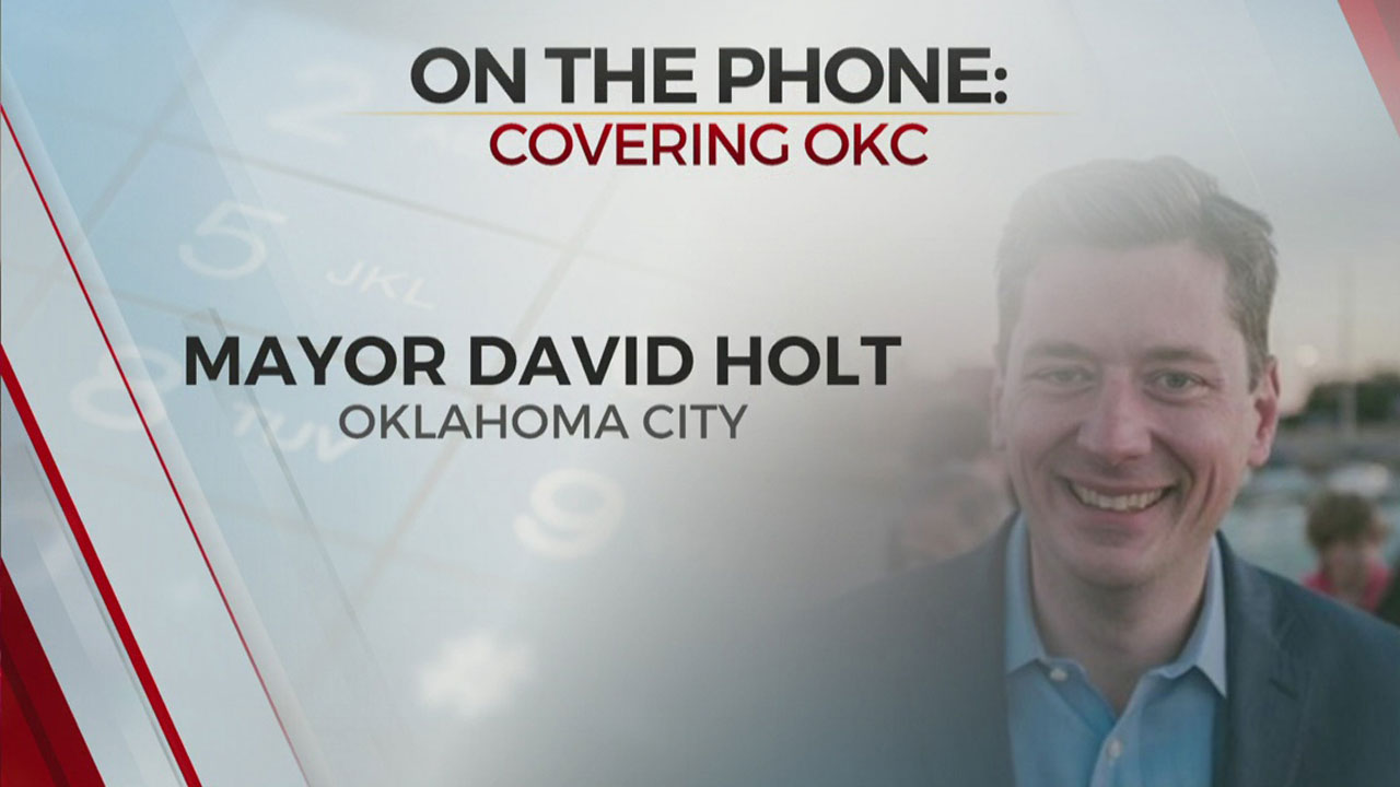 Watch: OKC Mayor David Holt On COVID-19 Hospitalizations, Halloween Safety