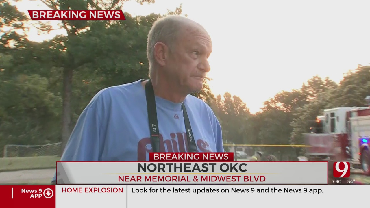 Watch: Neighbor Describes Explosion At Edmond Home