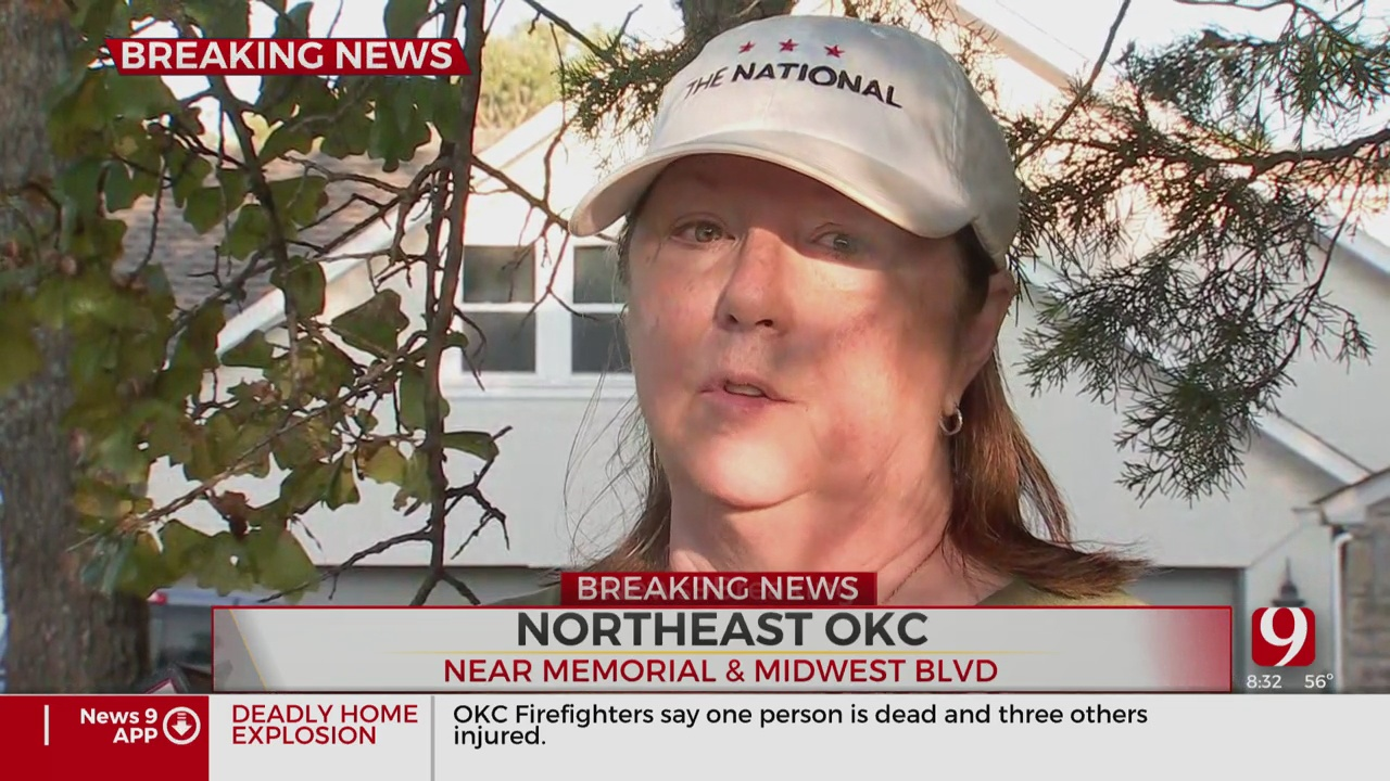 Neighbor Reacts To House Explosion In NE OKC
