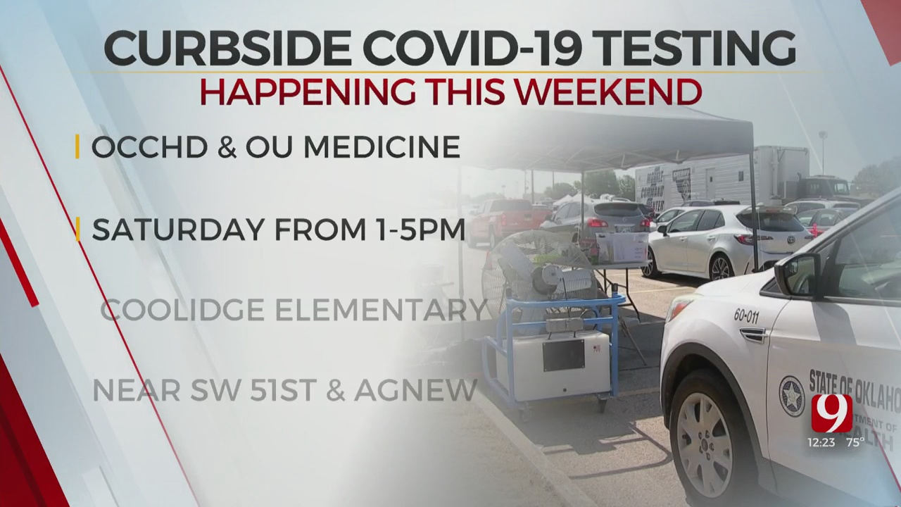 OCCHD, OU Medicine Team Up For Curbside COVID-19 Testing