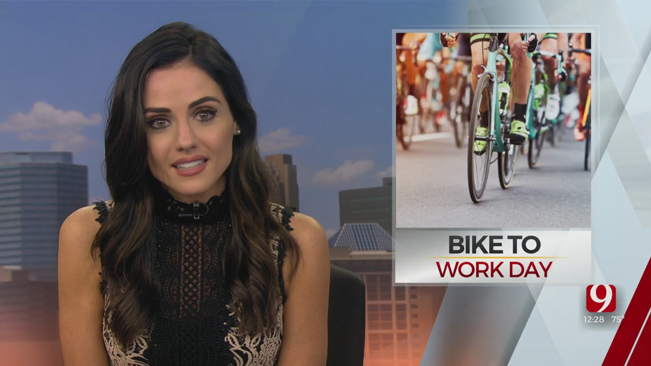 Bike To Work Day Aims To Reduce Carbon Footprint