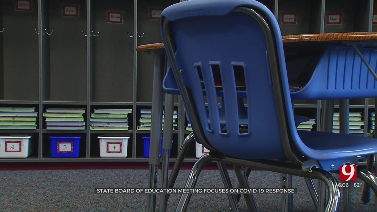 State Board Of Education Holds Meeting To Give COVID-19 Update