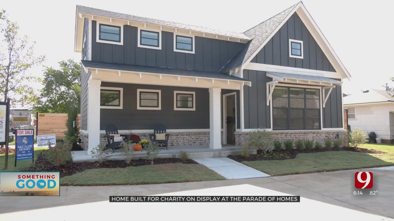 Home Built For Charity On Display At The Parade Of Homes