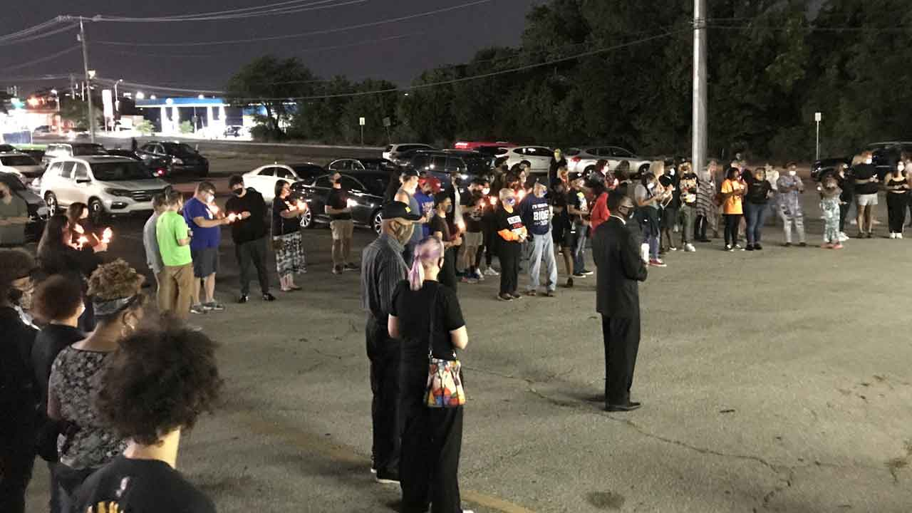 Vigil For Breonna Taylor Held In NE OKC