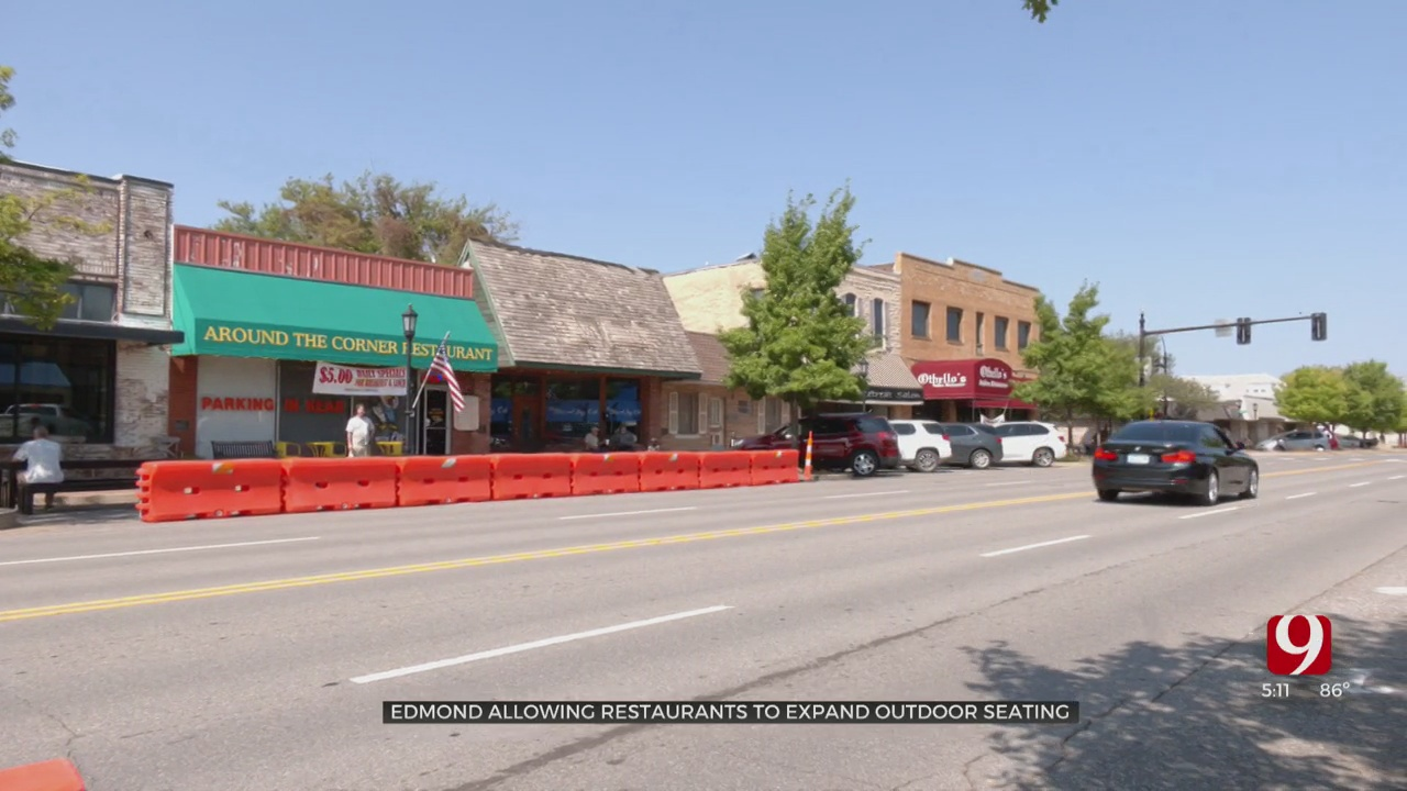 City Of Edmond Allowing Restaurants To Expand Outdoor Seating