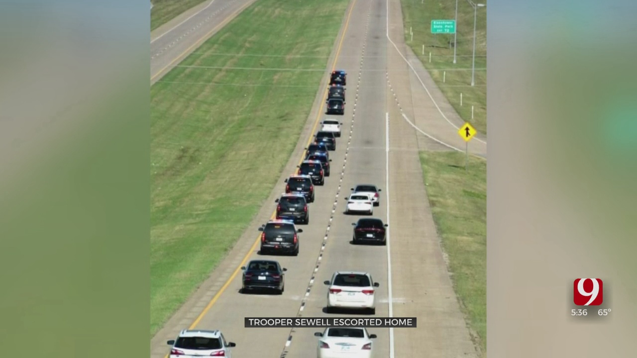 OHP Captain Escorted Home To Family