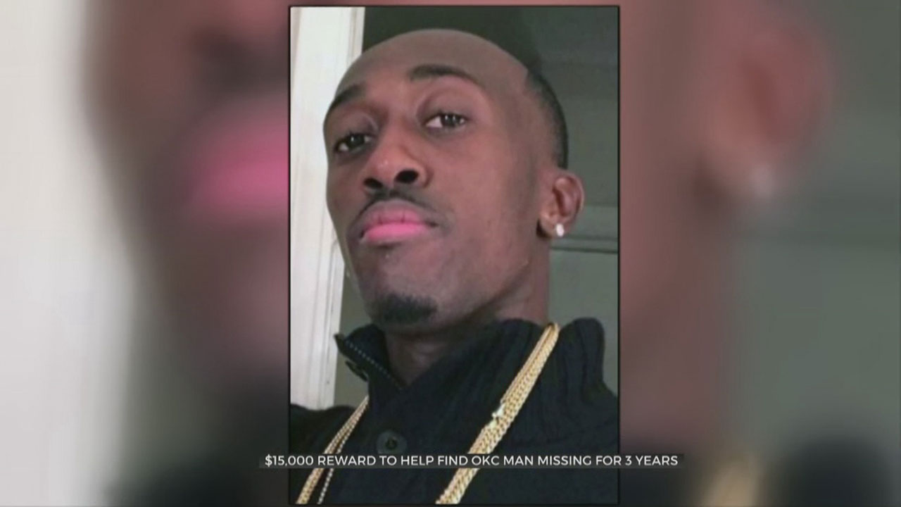 Family Of Missing OKC Man Increases Reward For Information On His Disappearance