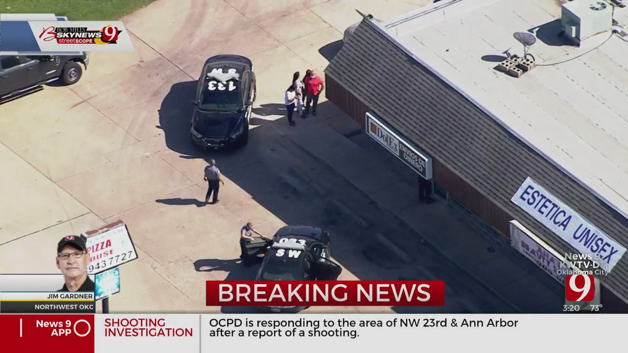 Police: Store Employee Shoots Robbery Suspect At NW OKC Business