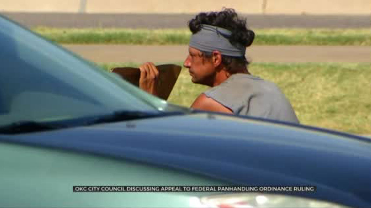 OKC-City Council To Discuss Appeal Of Overturned Panhandling Ordinance