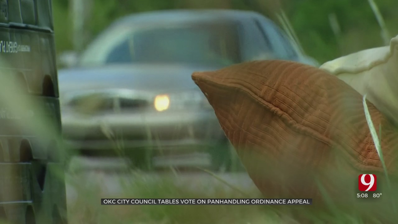 City Council Delays Vote Taking OKC's Panhandling Ban To Supreme Court
