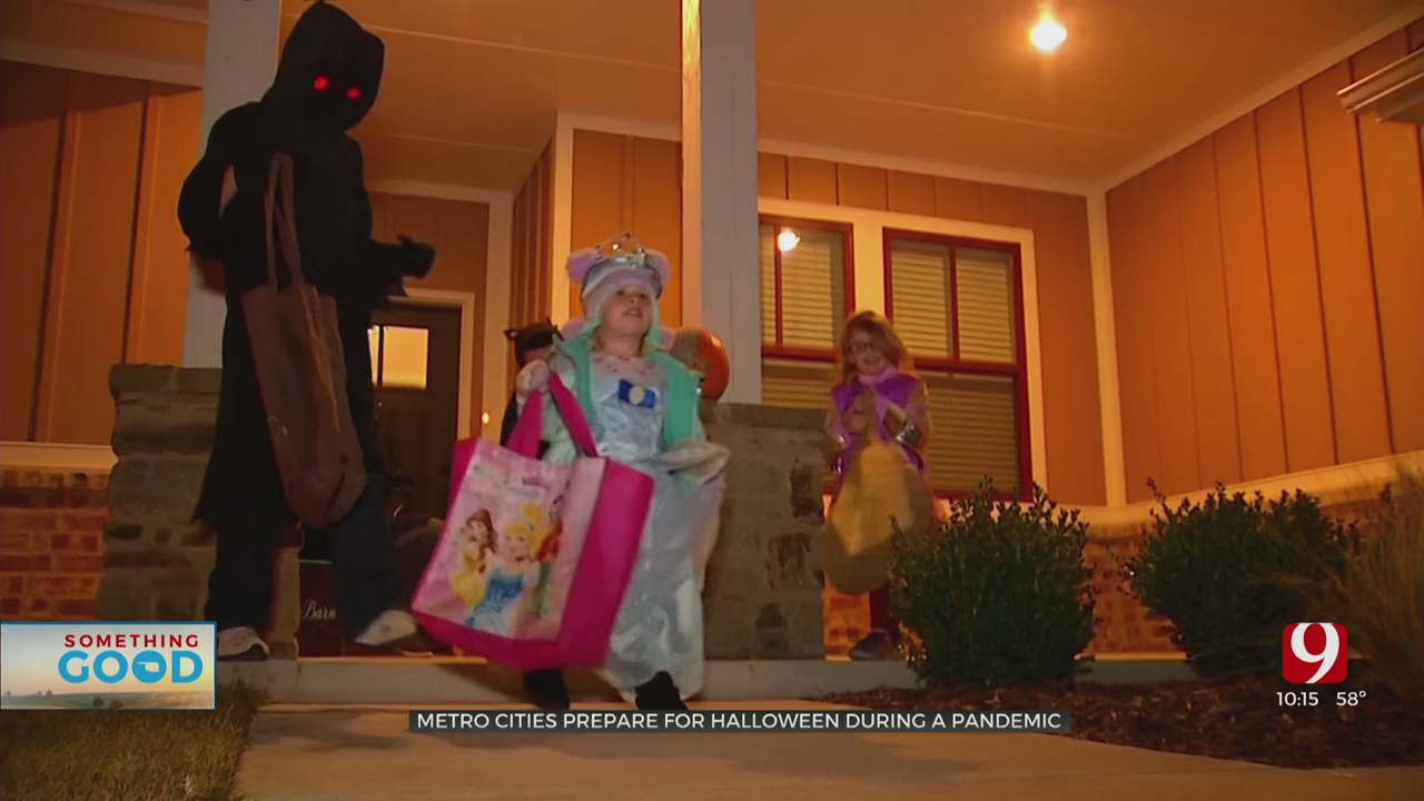 Cities Prepping For Halloween During Pandemic