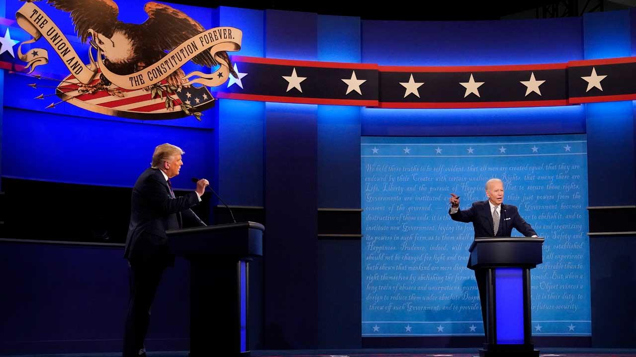 'Shut Up, Man': 1st Debate Between Biden, President Trump Devolves Into Personal Jabs