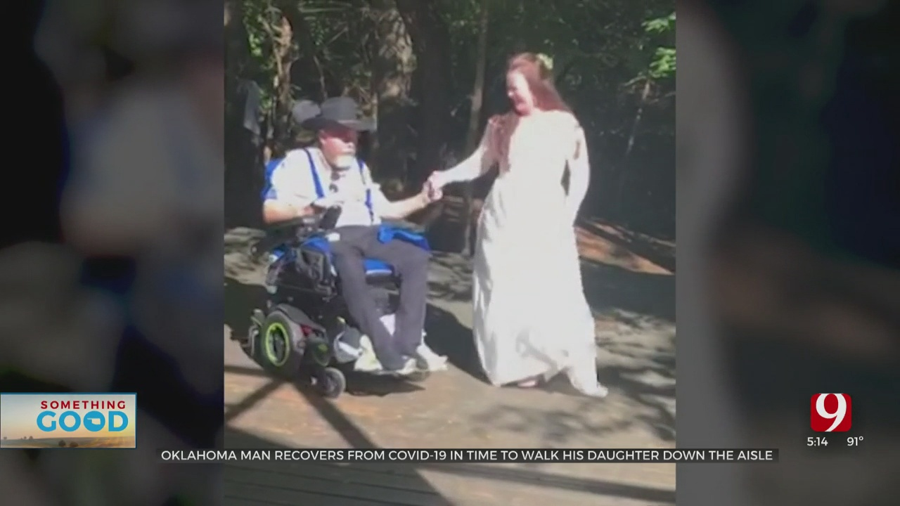 OKC Man Recovers From COVID-19 In Time To Walk His Daughter Down The Aisle