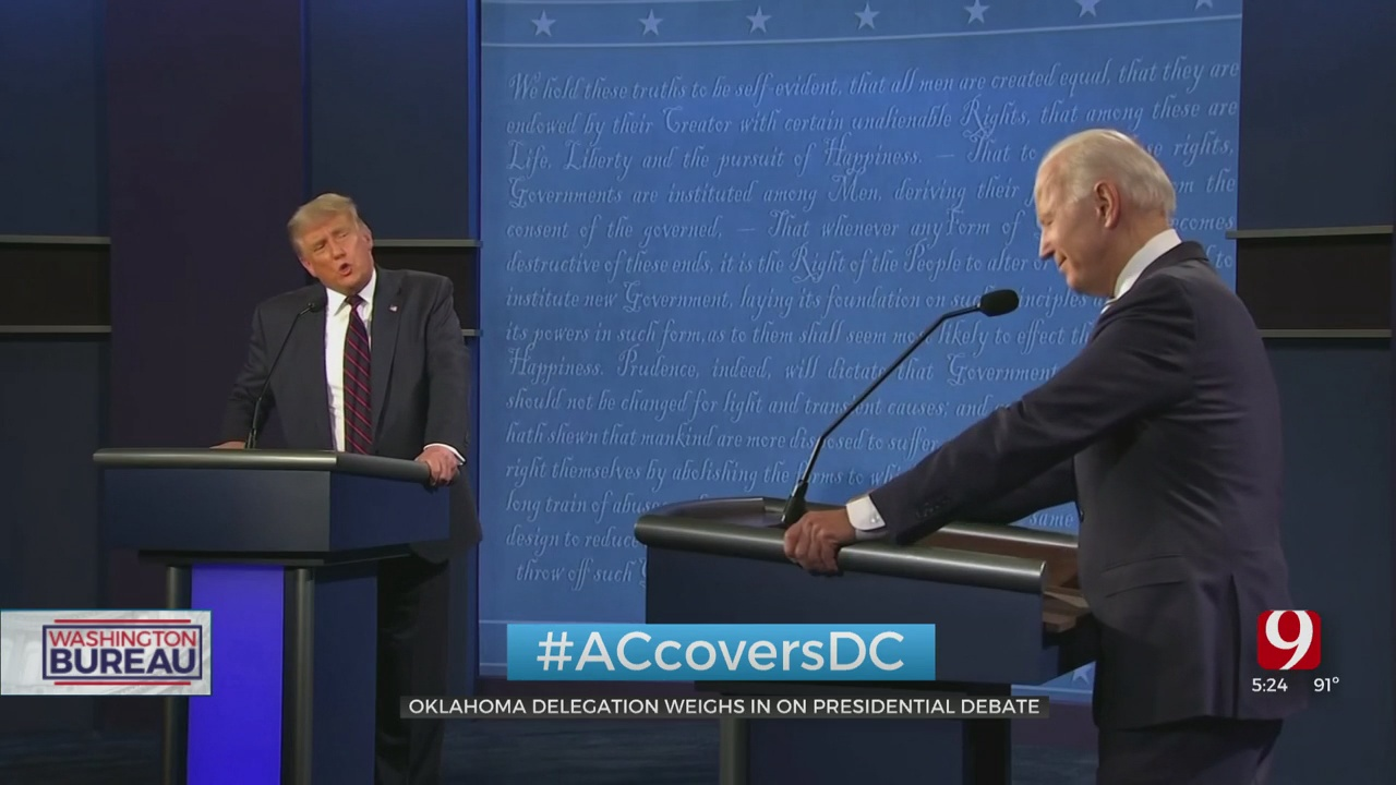 Oklahoma's Delegation Responds To 1st Presidential Debate