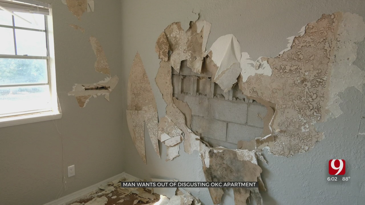 Family Says Management Not Doing Anything To Fix Deplorable Living Conditions In NW OKC Apartment