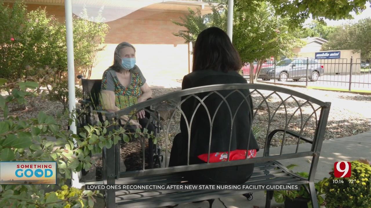 Nursing Homes Work To Restore Visitation After Change in Guidelines