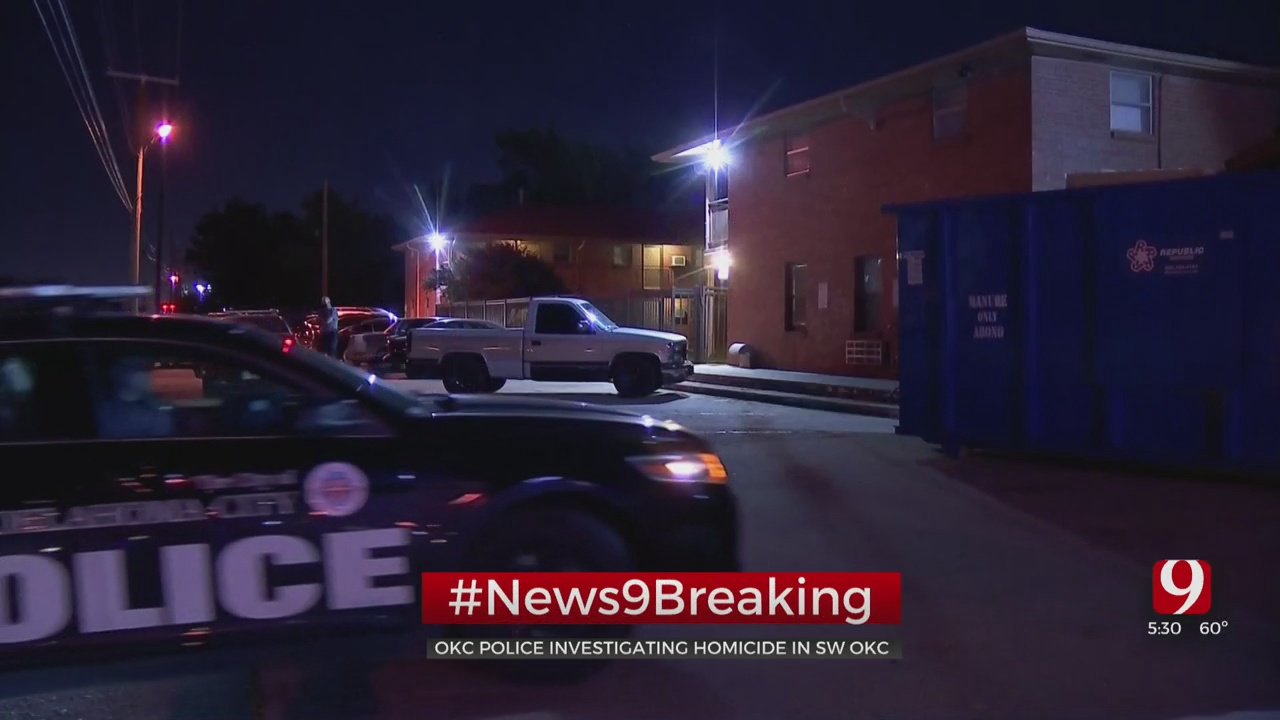 Woman Found Dead At SW OKC Apartment