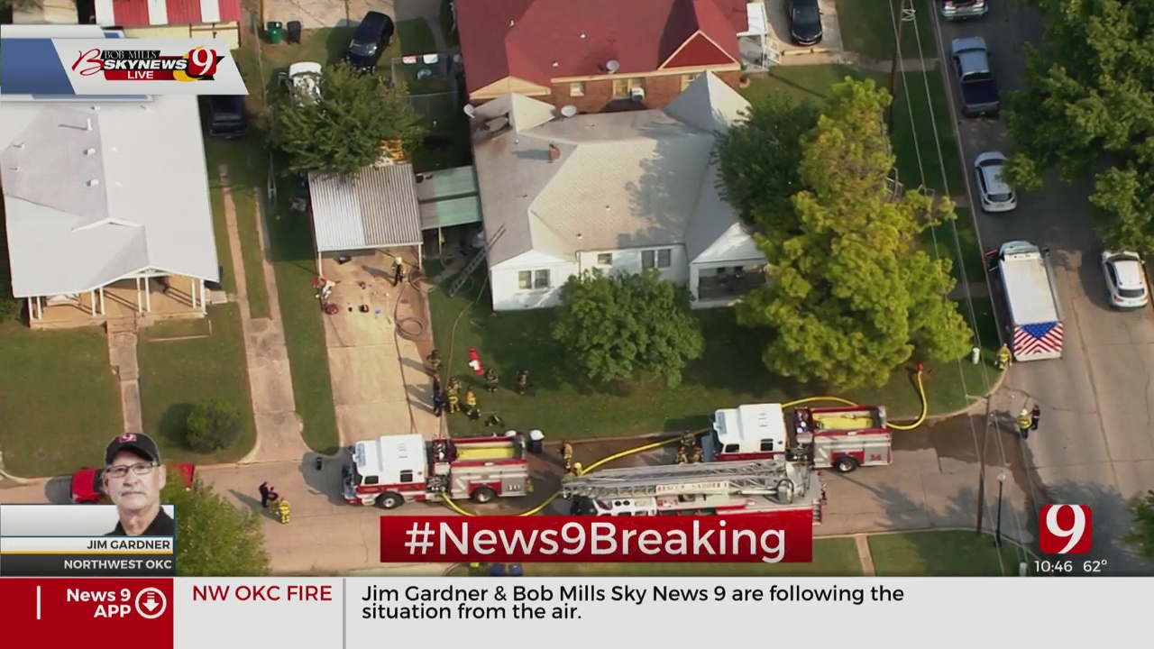 Firefighters Respond To Duplex Fire In NW OKC