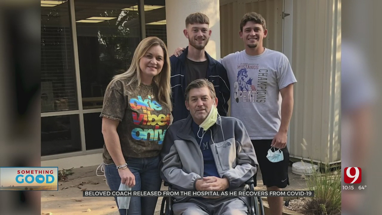 Beloved Fort Cobb Coach Released From Hospital As He Recovers From COVID-19
