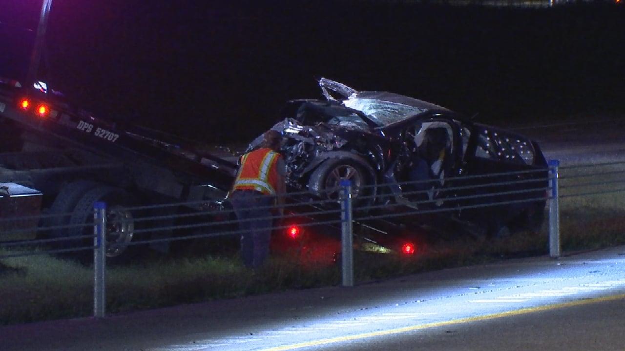 2 Injured In Wrong Way Crash On Kilpatrick Turnpike