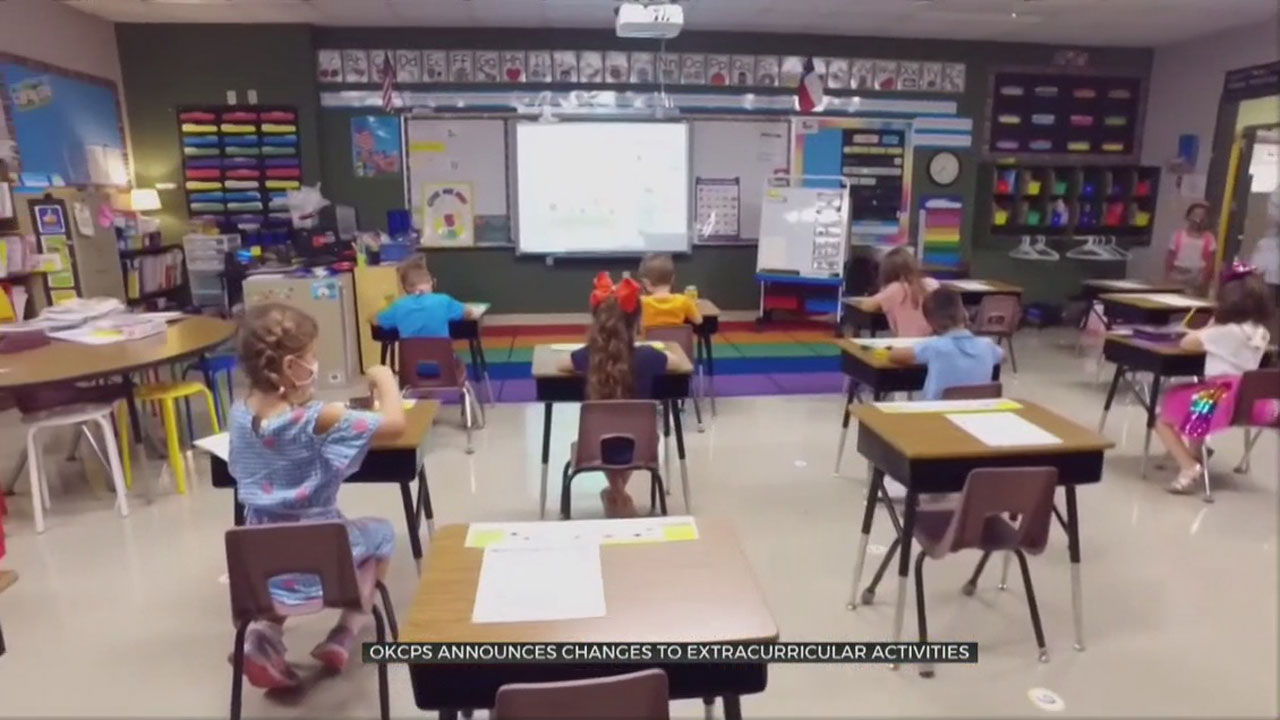 OKCPS Makes Changes To Extra Curricular Activities, Return To School Plan