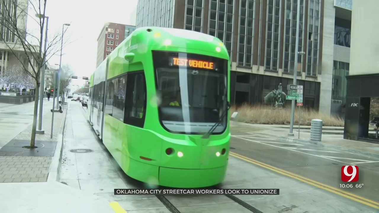 OKC Streetcar Employees Vote For Starting Union, Cite Safety & Health Concerns