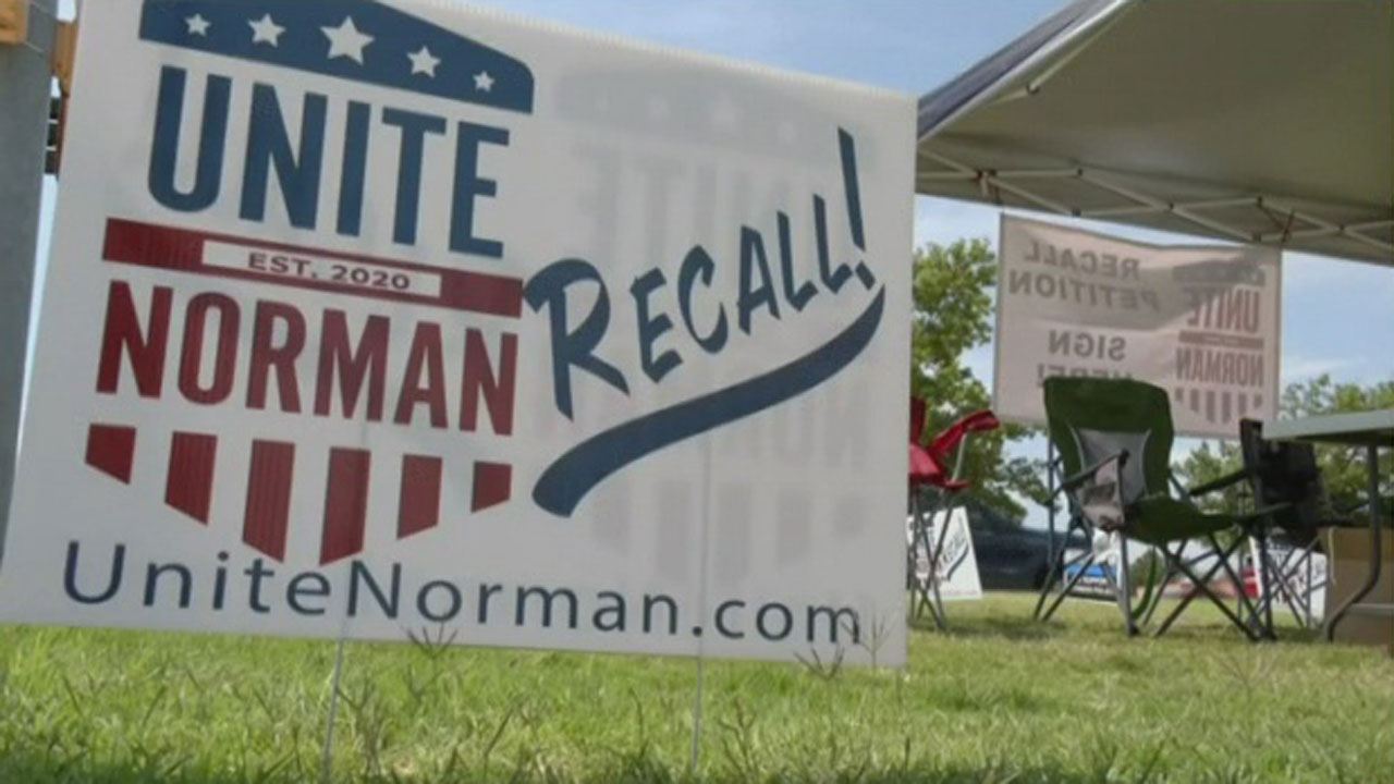 Unite Norman Wants Judge To Decide On Petition To Recall Mayor