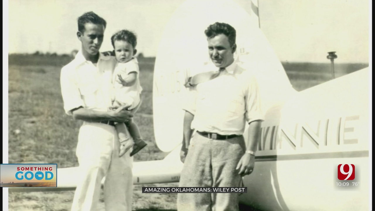 Amazing Oklahoman: Life Of Aviator Wiley Post