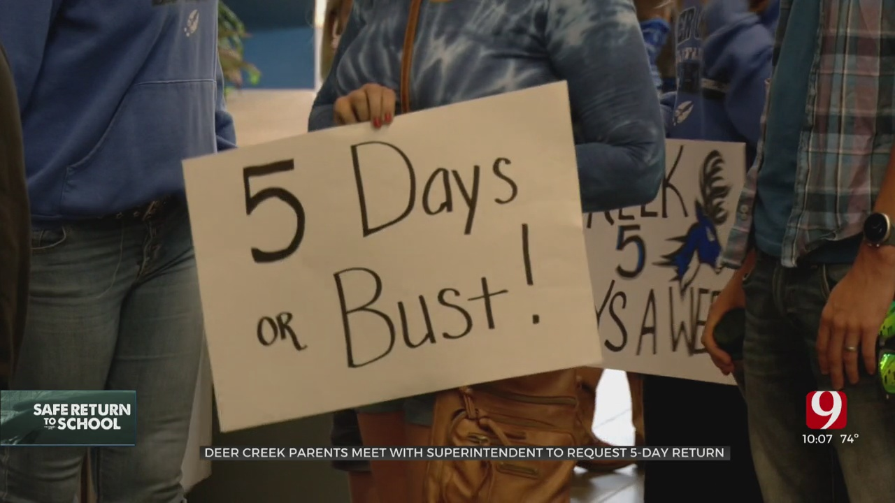 Deer Creek Parents Meet Privately With Administrators To Talk School Reopening