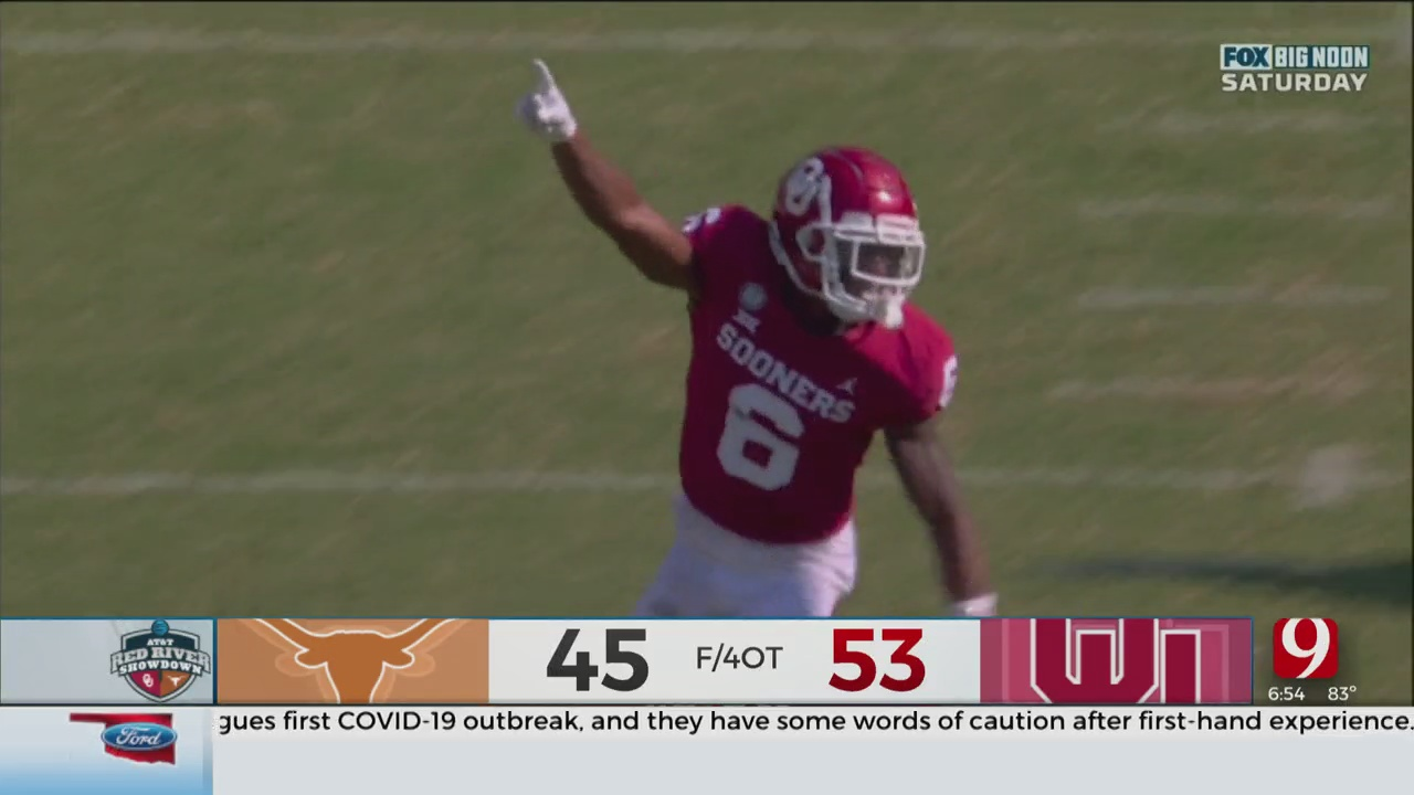 Oklahoma Outlasts Texas In 4 OT Thriller