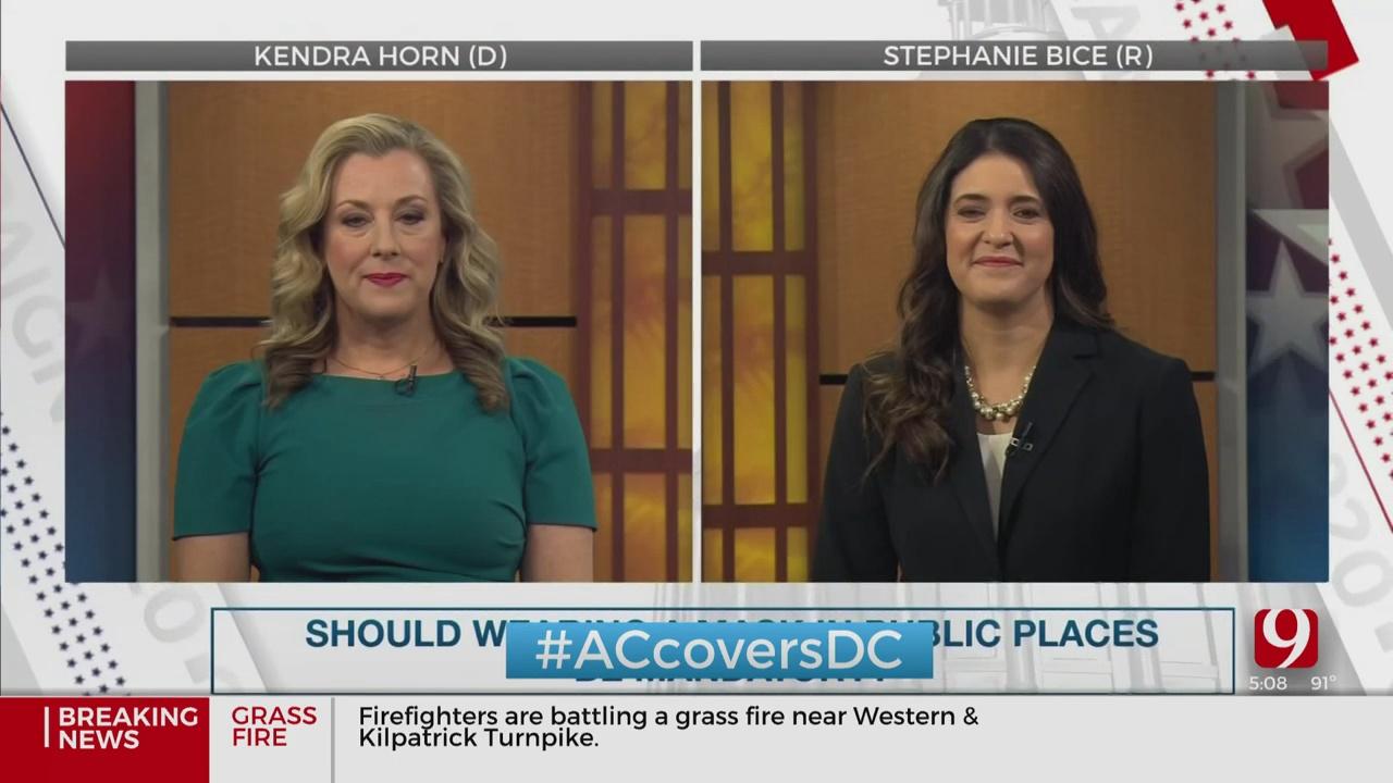 US Rep. Kendra Horn, GOP Challenger Stephanie Bice Face Off In News 9 Debate