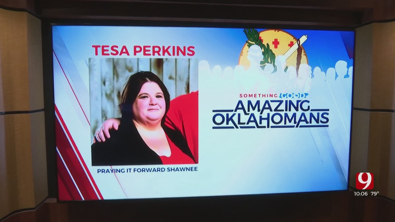 Amazing Oklahoman: Tesa Perkins 'Praying It Forward' By Helping Families In Need