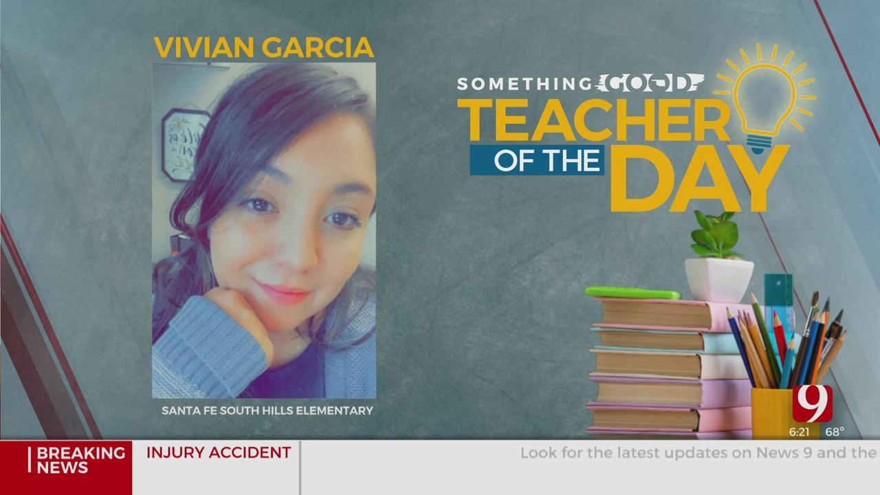 Teacher Of The Day: Vivian Garcia