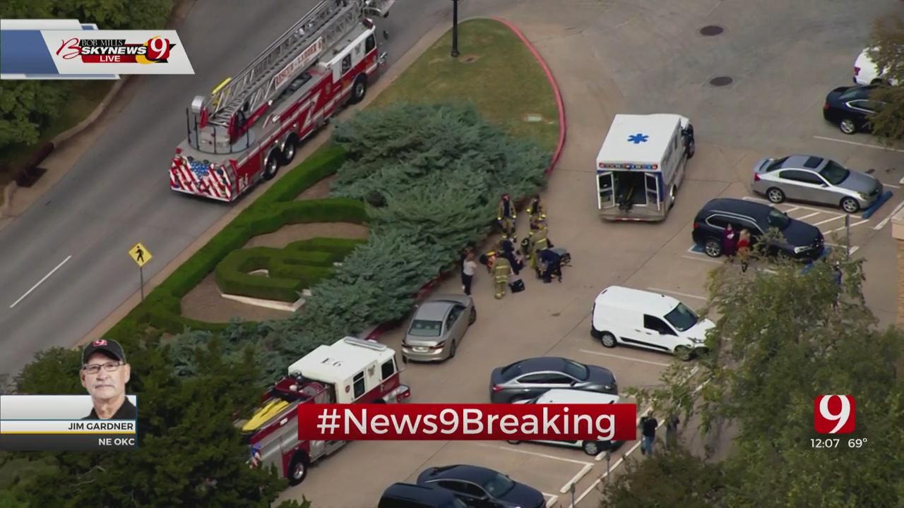 Authorities On Scene Of NE OKC Auto-Pedestrian Accident