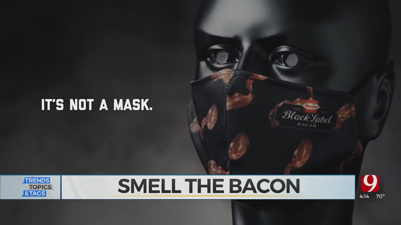 Trends, Topics & Tags: Bacon Smelling Mask