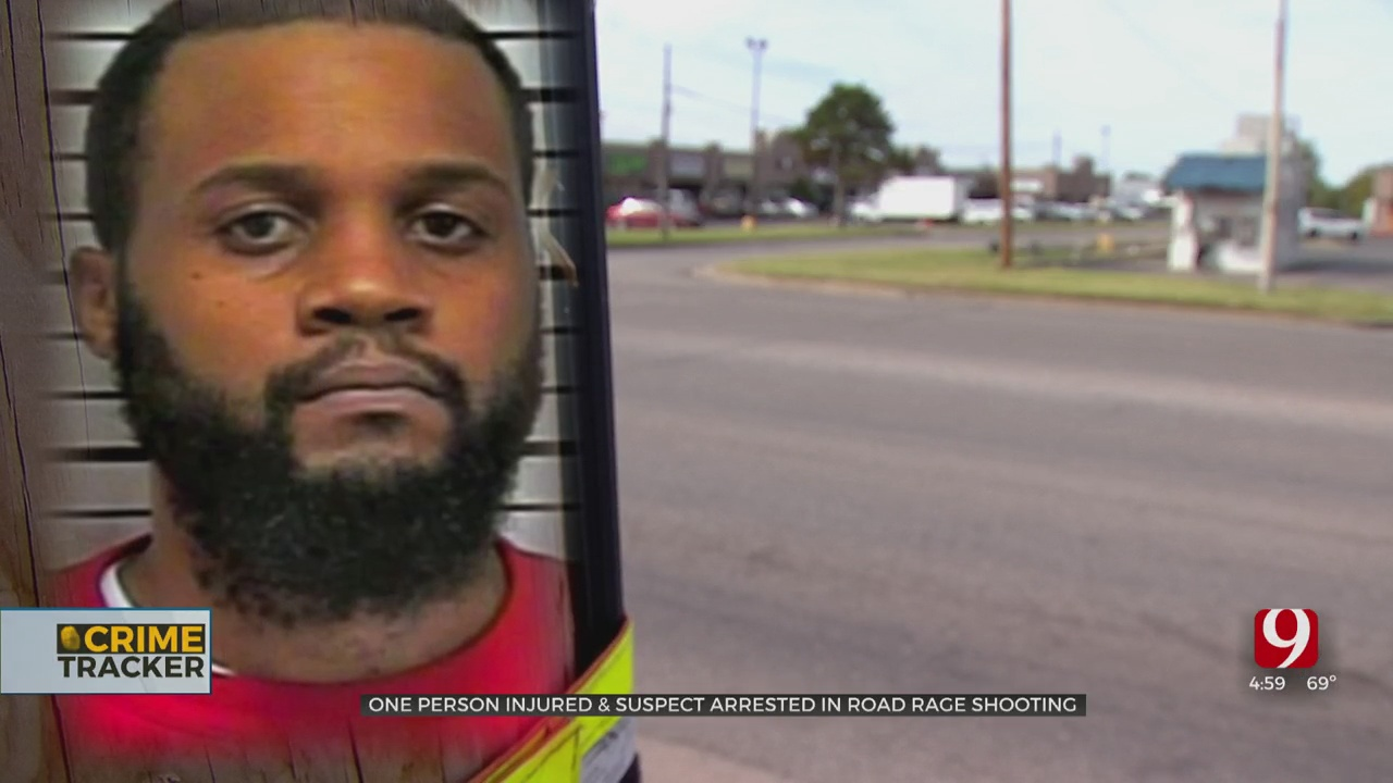 Man Arrested, Accused Of Shooting Driver In Response To A Honk In OKC