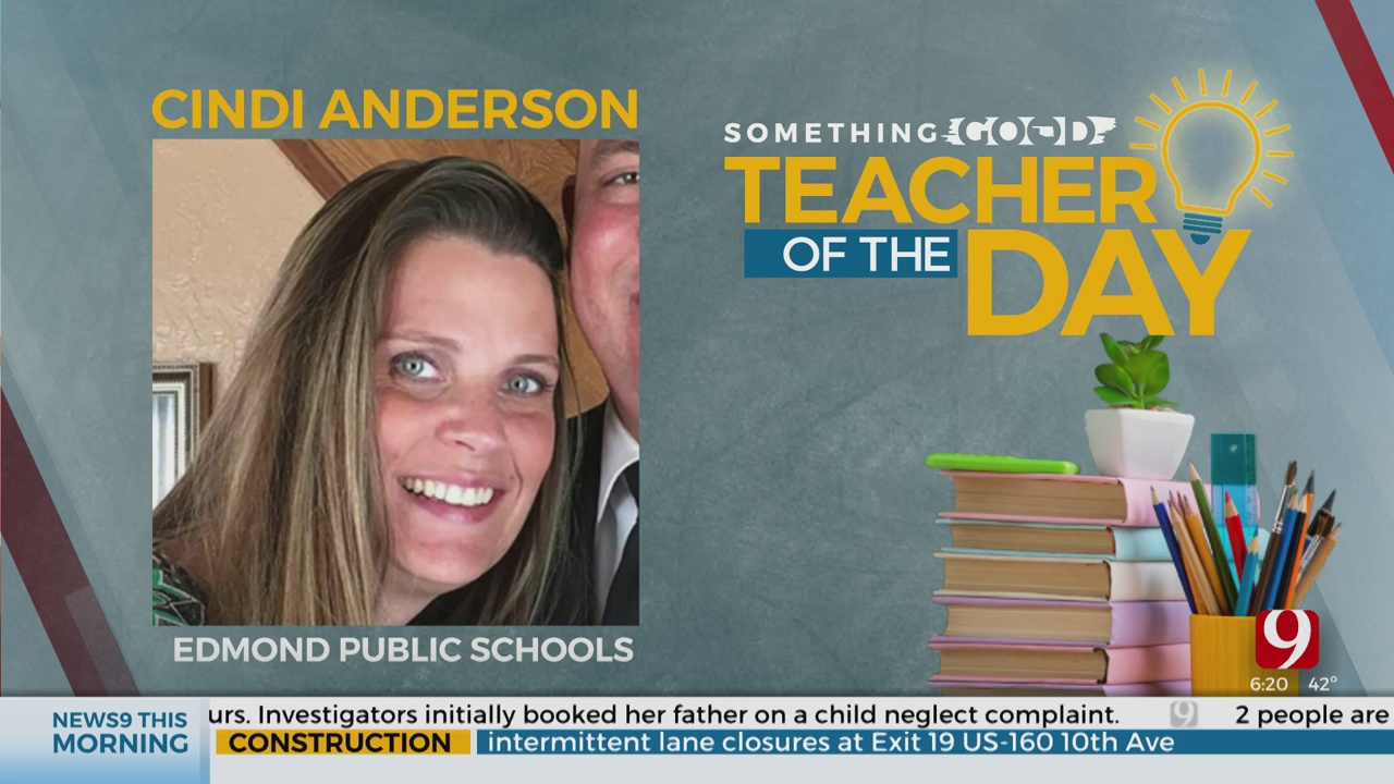Teacher Of The Day: Cindi Anderson