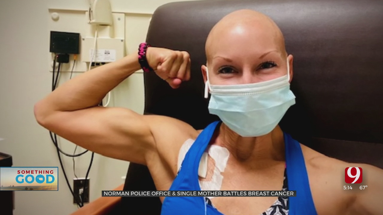 Community Rallies Around Police Officer Facing 2nd Battle With Breast Cancer