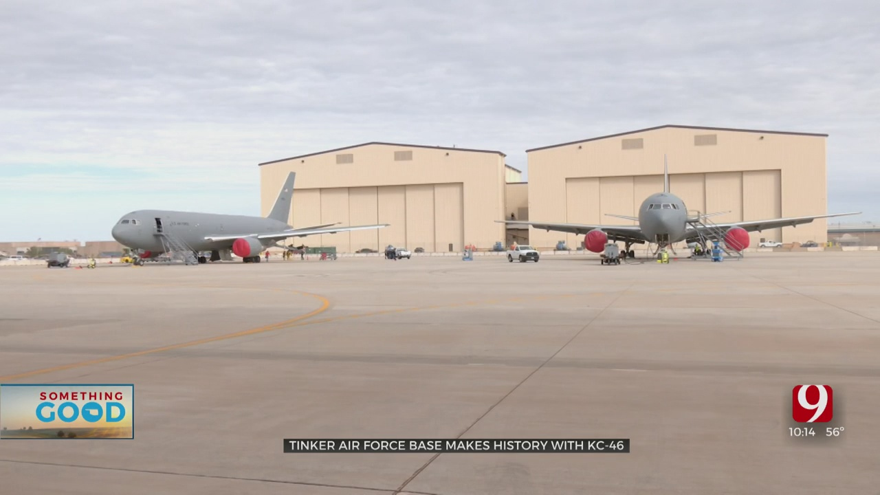 Historic Inspections Begin On KC-46 At Tinker Air Force Base