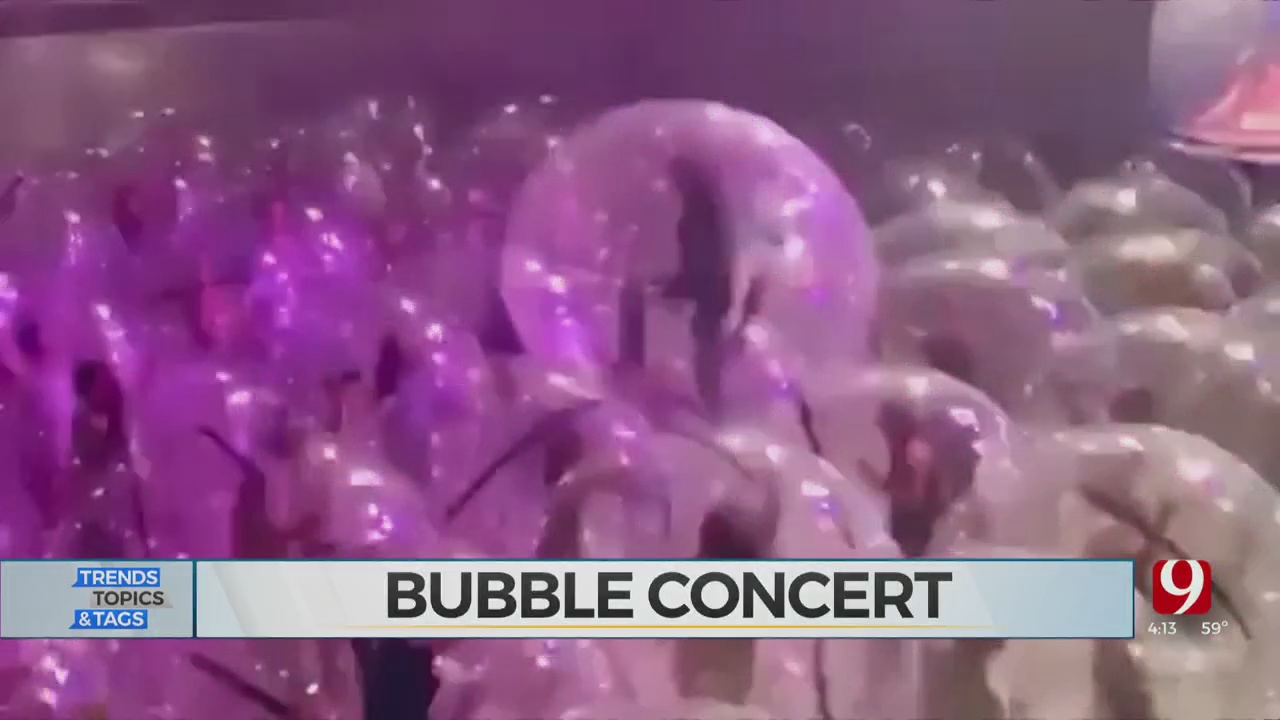 Trends, Topics & Tags: Concert Bubbles