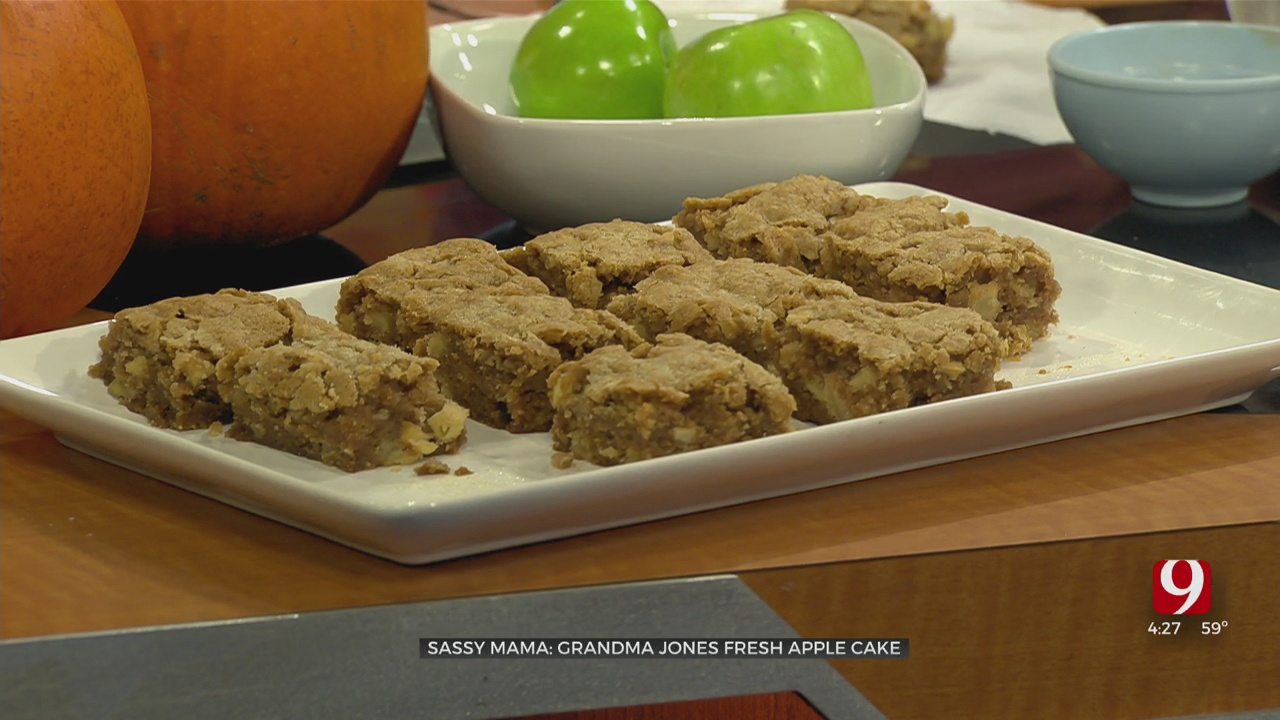 Grandma Jones Fresh Apple Cake
